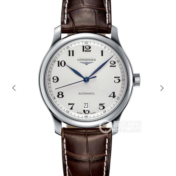 浪琴名匠系列L2.628.4.78.3男士机械皮带手表 顶级复刻一比一