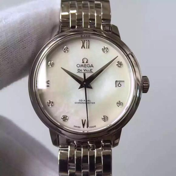顶级复刻欧米茄碟飞424.10.33.20.53.001女士手表