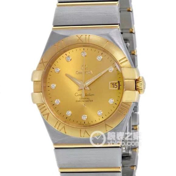 复刻精仿欧米茄星座系列123.20.35.20.58.001机械男士手表