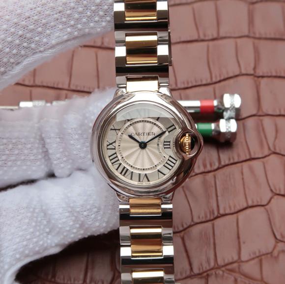 V6卡地亚蓝气球系列女士石英手表