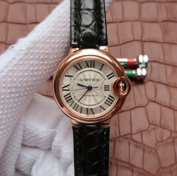 卡地亚蓝气球w6920097 1:1大小33毫米 女士手表