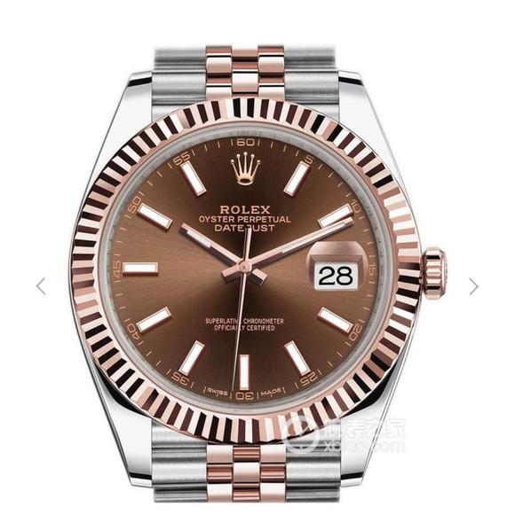 劳力士日志型系列126331男士腕表。进口ETa2836瑞士机械机芯实拍图