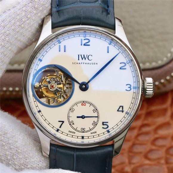 ZF万国表葡萄牙系列陀飞轮腕表,皮表带 自动机械男士腕表