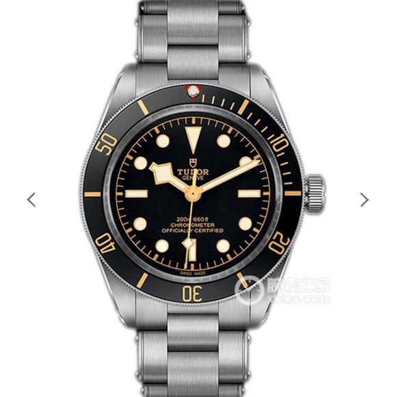 ZF帝舵碧湾系列M79030N-0001腕表,精钢表带 自动机械男士腕表