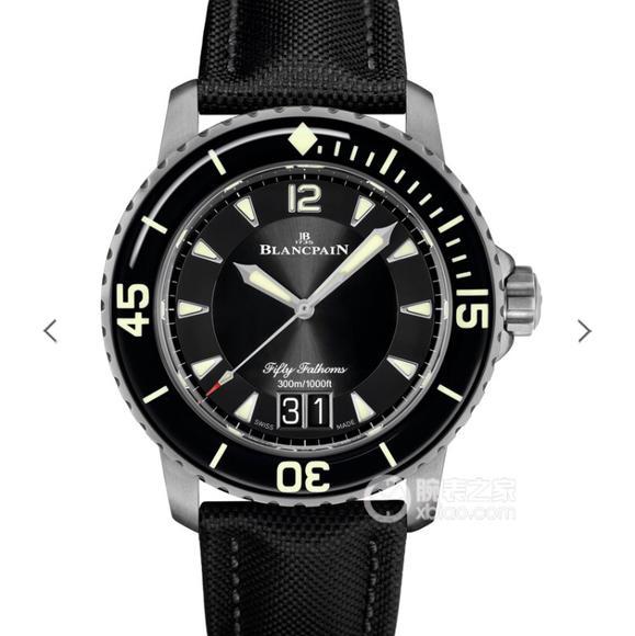 HG厂宝珀五十寻大日历5050全新的Grande Date腕表