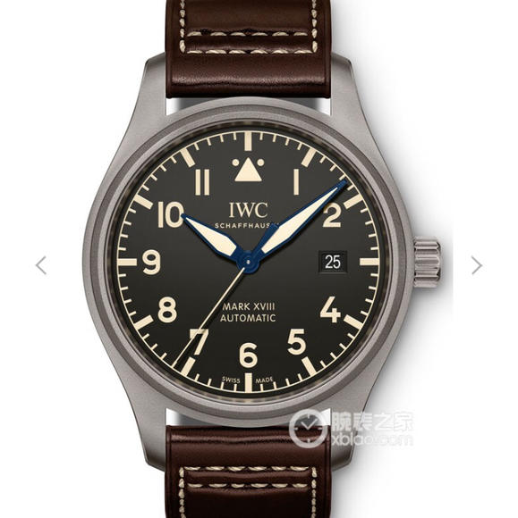 GS万国飞行员系列马克18??IW327006腕表 牛皮手表 IW35111自产机芯 男士腕表