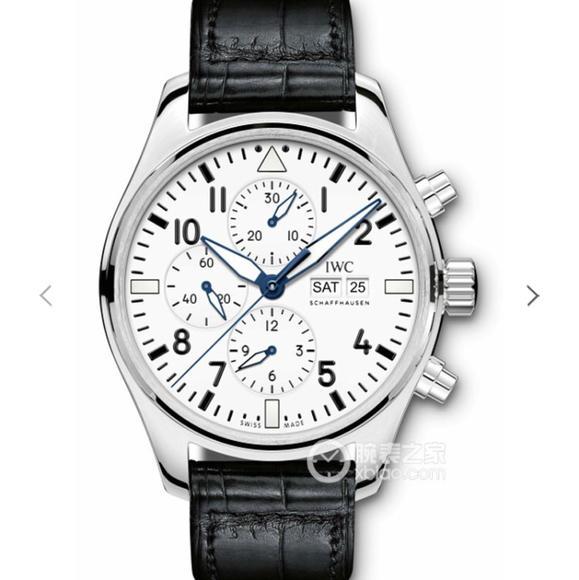 ZF万国表以喷火战机为名的飞行员腕表系列 皮带表 自动机械机芯 男士腕表