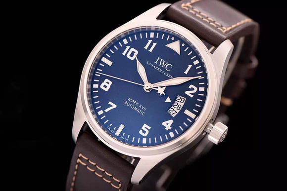 XF IWC万国飞行员系列IW326506腕表 牛皮表带 瑞士ETA2892-2全自动机芯 男士腕表