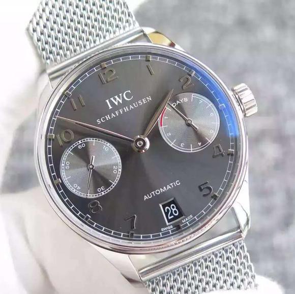 YL万国葡七限量版葡萄牙7日链V5版钢带 原装一比一开模原版Cal.51011全自动机芯男士腕表