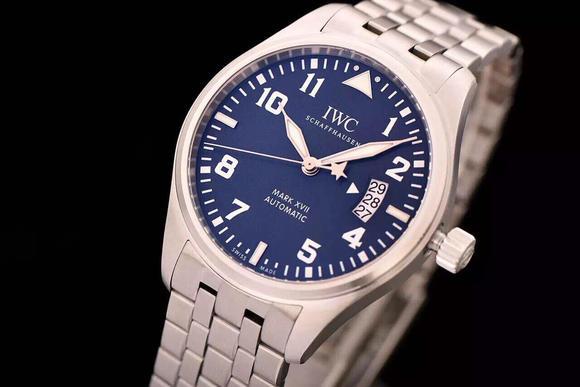 XF IWC万国飞行员系列IW326506腕表 精钢表带 搭载瑞士ETA2892-2全自动机芯 男士