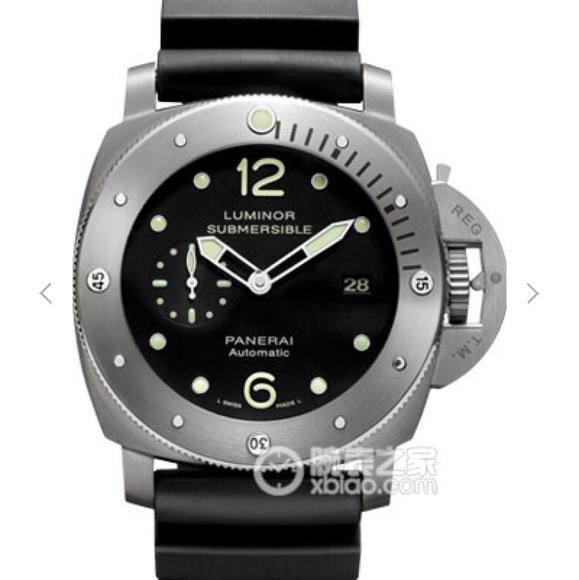 XF沛纳海PAM571 橡胶表带 P9000自动机械 男士腕表