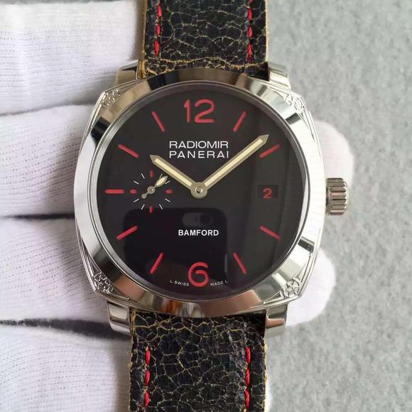 N。PANERAI沛纳海PAM514欧洲限量版 搭配定制版CAL.P9000自动机械机芯 男士手表