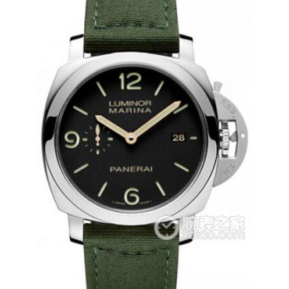 XF沛纳海PAM618(HONGKONG版本)帆布表带 搭载ASIA7750全自动机芯 男士腕表