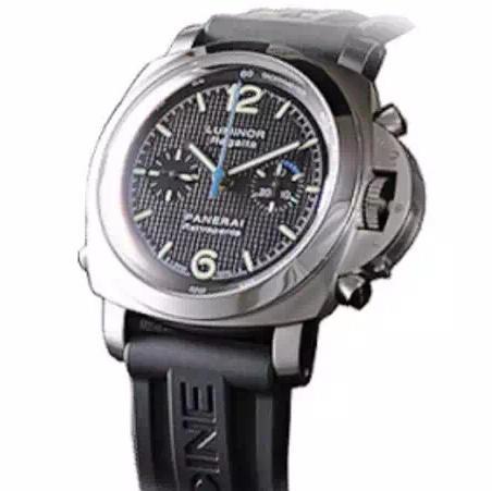 N沛纳海PAM286 橡胶表带 ASIA7750自动机械 男士腕表