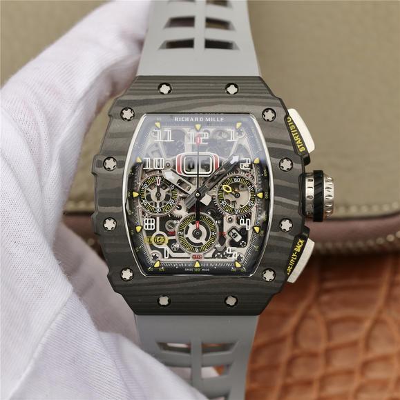 KV理查德米尔米勒RM11-03系列 男士机械手表 (灰色胶带)