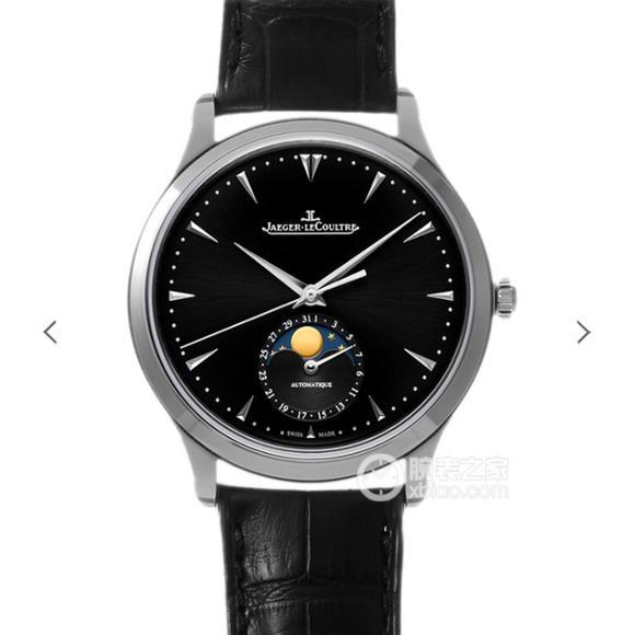 ZF积家大师系列月相 功能男士机械手表 皮带表