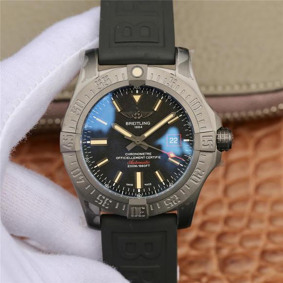 GF百年灵黑鸟V4终极版 橡胶表带 男士机械手表