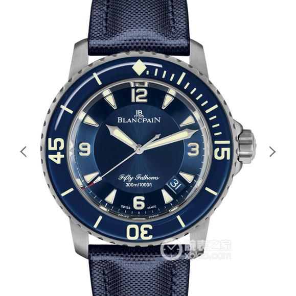 ZF宝珀五十?新款--宝珀5015腕表 绢丝表带 自动机械机芯 男士腕表