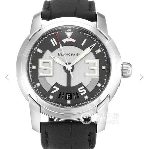 宝珀开创系列8805-1134-53B整表采用腕表界顶级瑞士工艺 皮表带 自动机械机芯 男士腕表
