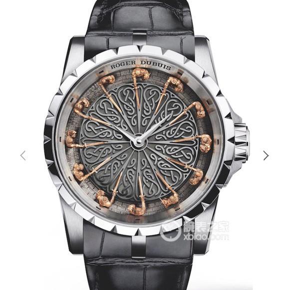罗杰杜彼王者系列RDDBEX0495圆桌12骑士之一 男士机械腕表