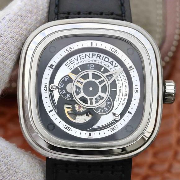SV七个星期五sevenfriday 惊世之作SF宇宙飞船腕表 男士机械手表