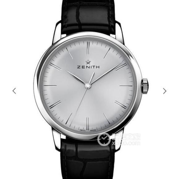 H真力时ELITE系列超薄款式03.2270.6150/01.C493 男士皮带机械手表