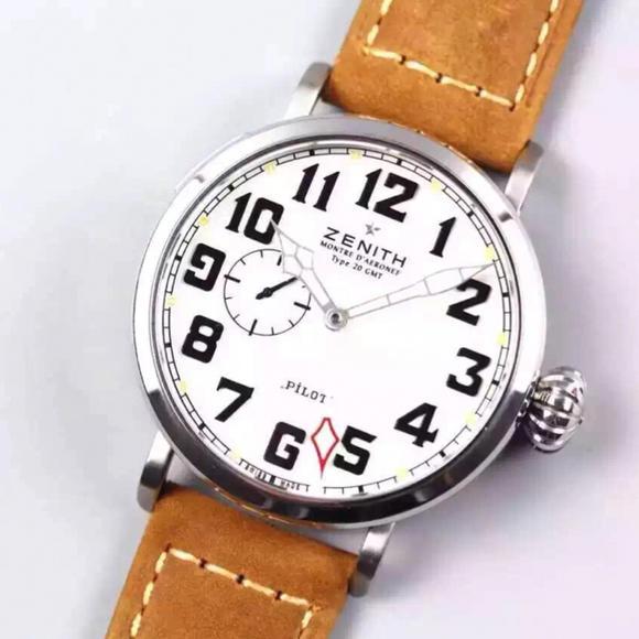 XF 飞行员 新品上线 牛皮表带 进口全自动机械机芯 男士手表