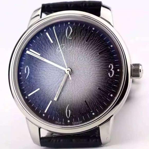 FK格拉苏蒂原创 型号:1-39-52-01-02-04 牛皮表带 全自动机械机芯 男士腕表