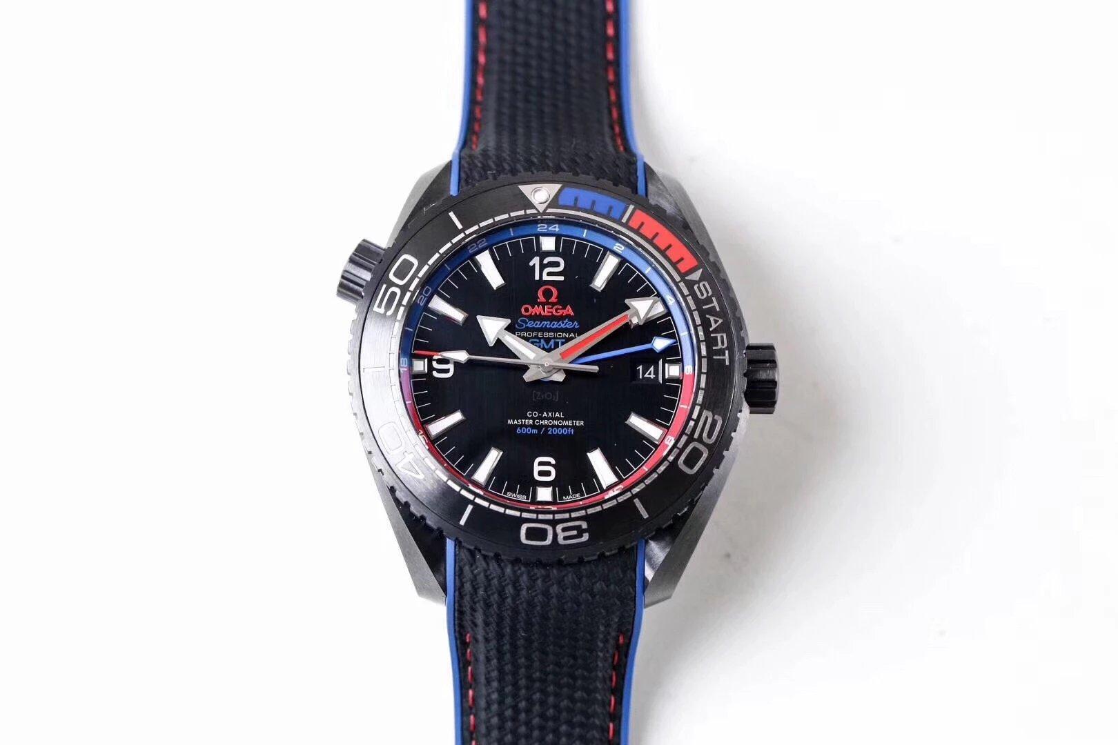"""VS厂欧米茄陶瓷海洋宇宙600米 """"深海之黑"""" 手表 顶级复刻"""