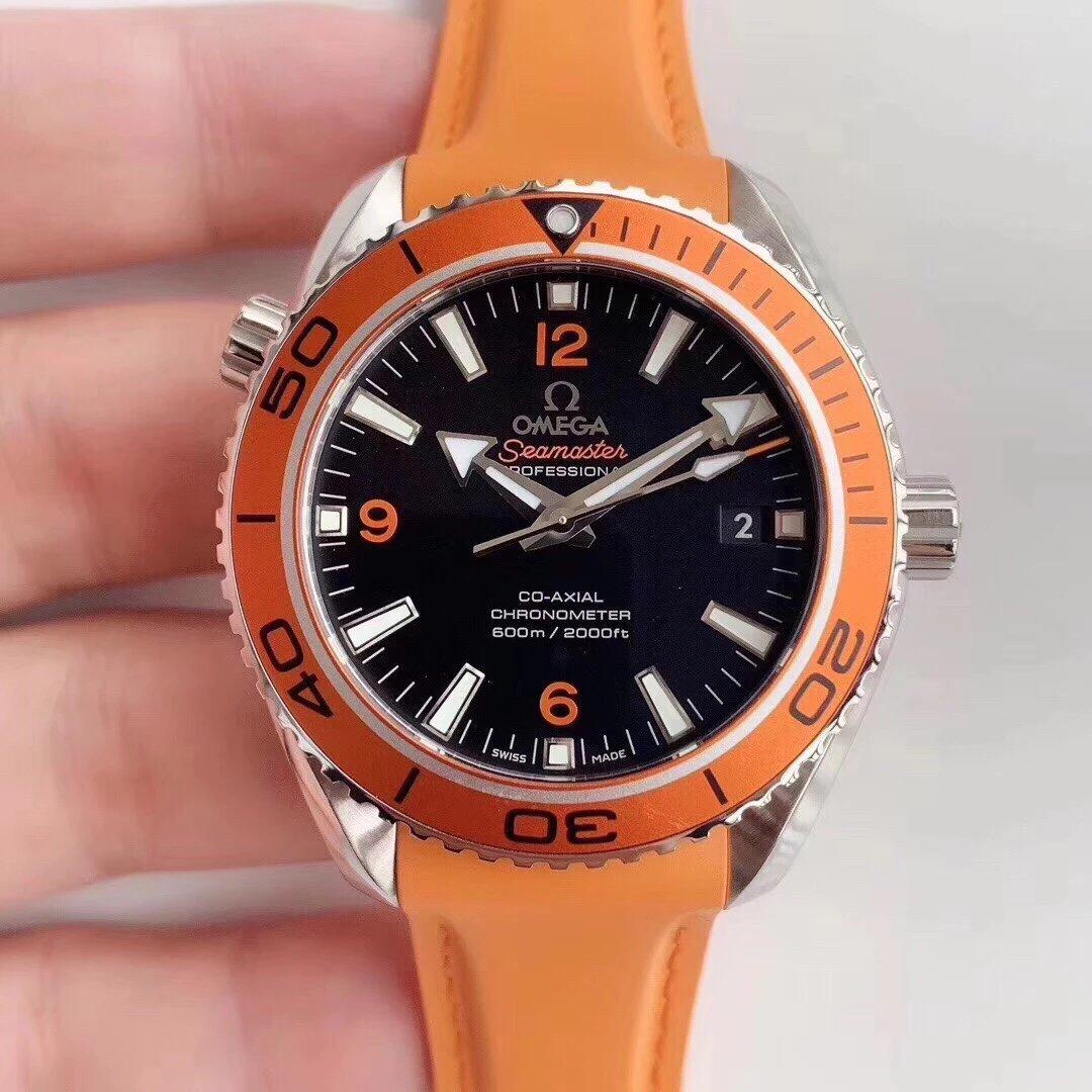 VS新品欧米茄海马600米男士自动机械手表 顶级复刻