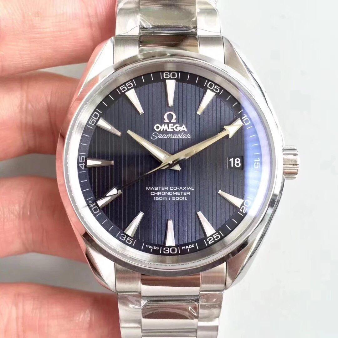 VS厂欧米茄海马系列150米 8500机芯钢带手表