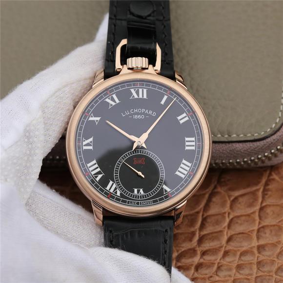 LUC出品集腕表与怀表一体的萧邦L.U.C系列161923-1001腕表震撼来袭!自动机械机芯