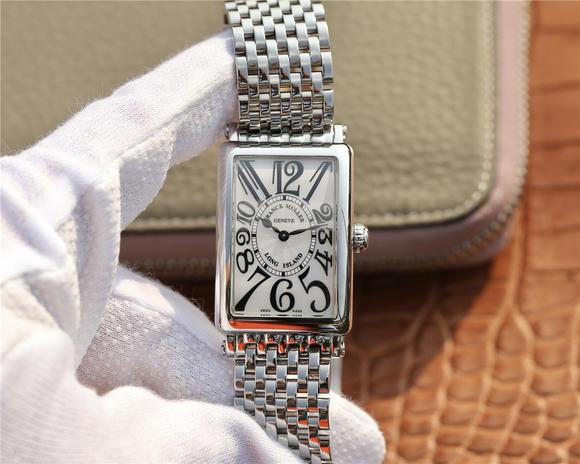 ABF法兰克穆勒LONG ISLAND 952 钢带版 迄今为止最高版本 原装机芯 女士腕表