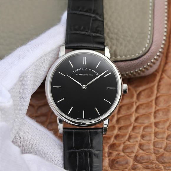 SV朗格SAXONIA系列腕表精彩出场 简约的两针设计 自动上旋机芯 意大利牛皮