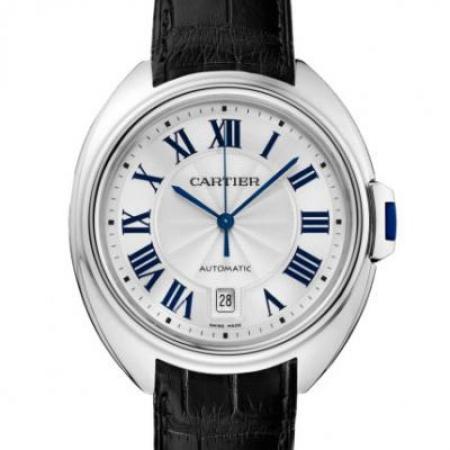 XF卡地亚钥匙系列WSCL0018男士机械皮带手表