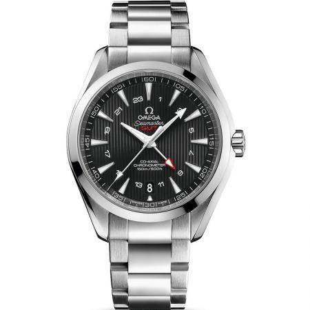 VS厂欧米茄海马系列231.10.43.22.01.001男士钢带自动机械手表 GMT功能搭载VS全