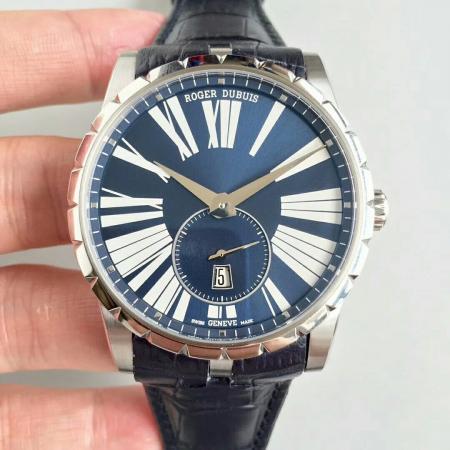 RD工厂罗杰杜彼王者系列男士自动机械手表 (蓝色盘)