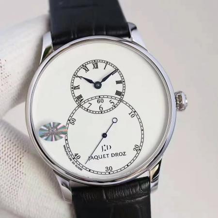 雅克德罗大秒针系列J014014201男士机械腕表 独立秒针