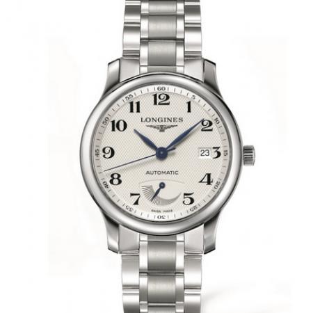 GS厂顶级复刻浪琴L2.708.4.78.6名匠系列动能储蓄显示钢带手表