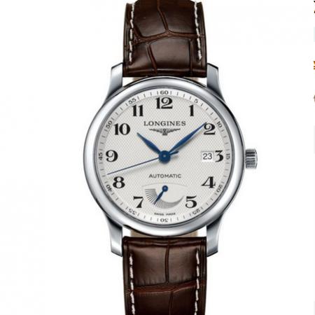 gs厂顶级复刻浪琴L2.708.4.78.3名匠系列动能显示皮带手表