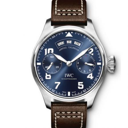 YL厂万国大型飞行员系列小王子IW502703年历大飞全真功能 大型日历时计男士手表
