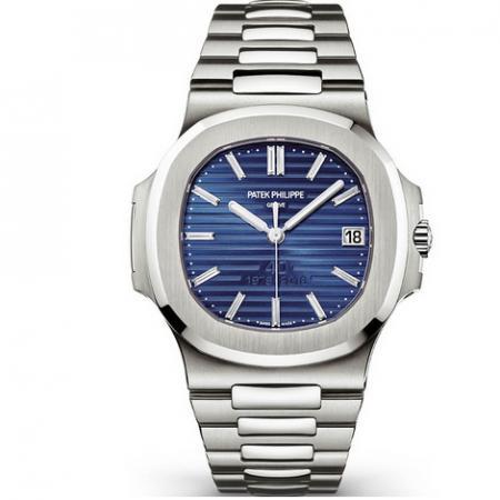MKS厂手表百达翡丽鹦鹉螺5711/1P-001蓝面 男士自动机械手表