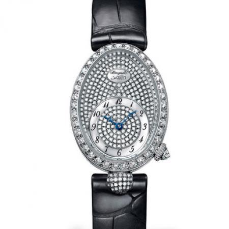 升级版宝玑那不勒斯王后8928BB/8D/944/DD0D女表 贝母面镶钻女士腕表