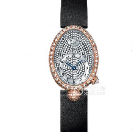 升级版宝玑那不勒斯王后8928BR/8D/844/DD0D女表 贝母面镶钻女士腕表
