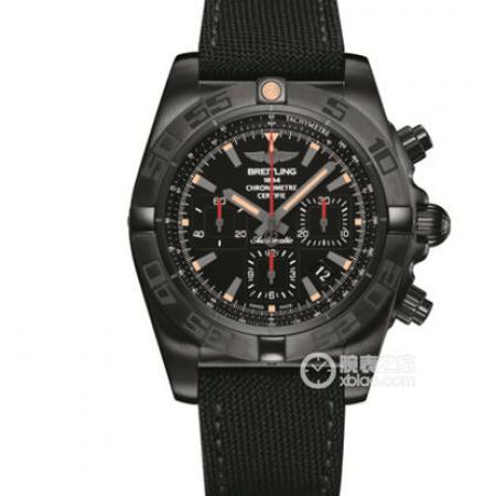 GF厂手表百年灵机械计时MB0111C3.BE35.253S.M20DSA.2,44mm黑钢腕表