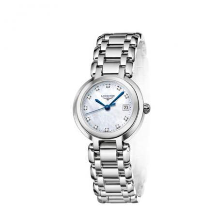 GS厂手表浪琴心月系列L8.110.4.87.6贝壳盘女士瑞士石英腕表