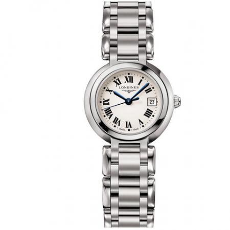 GS厂手表浪琴心月系列L8.110.4.71.6贝壳盘女士瑞士石英腕表