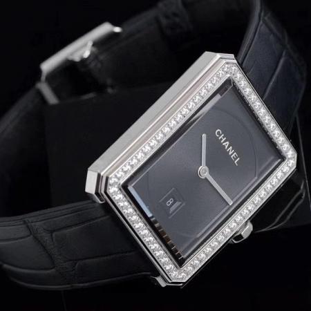 BV厂 CHANEL-香奈儿boy friend方形腕表 瑞士石英女士腕表