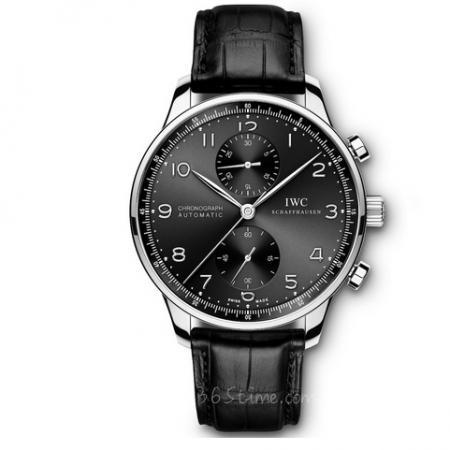 ZF厂万国表葡萄牙系列IW371609男士计时机械表 黑面银针
