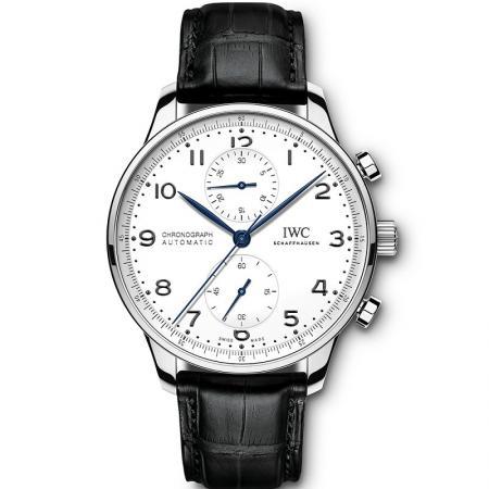 ZF厂复刻万国葡萄牙系列IW371602腕表 蓝针计时机械表